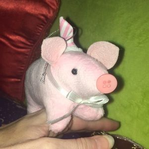 Pig Plush Ornament Year of the Pig